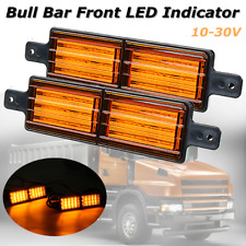 Universal 30LED Amber Front Indicator Bull Bar Park Light Lamp Truck Trailer