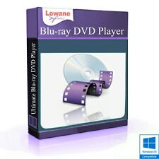 VIDEO PLAYER software Blu-Ray CD DVD AVI MP4 DivX WMV MPEG (Digital Download)