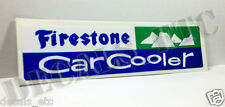 1960's Firestone Car Cooler Sticker, evaporative swamp cooler decal, thermador
