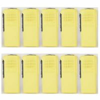 10x Yellow Replacement Repair Case Housing for Motorola HT750 Portable Radio