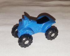 "Vintage Tonka Blue Plastic Beach Car Quad Bike 2.25"" x 1.25"" Toy 1970's Rare"