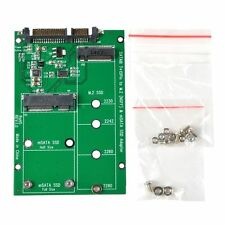 NEW ZTC 2-in-1 Thunder Board M.2 (NGFF) or mSATA SSD to SATA III Board Adapter