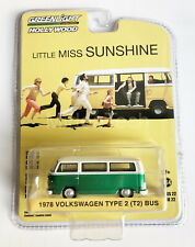 "1978 Volkswagen T2 Bus ""Little Miss Sunshine"" 1/64 Chase Car Greenlight 44820C"