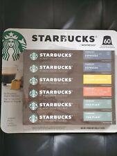 Starbucks coffee Espresso Aluminum Capsules - 60 Ct (condition AB free shipping)