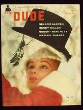 DUDE, VOL. 1, NO. 3, JANUARY, 1957