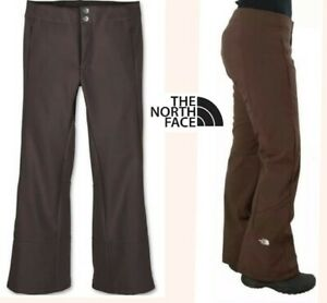THE NORTH FACE softshell ski pant wind proof stretch figure flattering womens LG