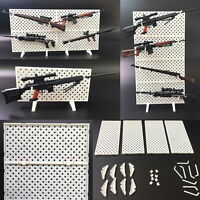 1/6 Scale Modular Weapons Display Wall Show Storage Stand for Gun Rack Models