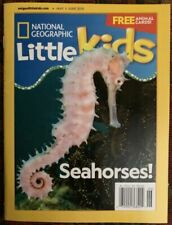 National Geographic Little Kids Magazine May/june 2019 Seahorses Nee Ship