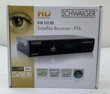 Schwaiger DSR 512 HD Satelliten Receiver FTA DVB-S2 Wohnmobil C38 2440 I2