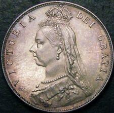 Gran Bretaña 1890 media corona CGS 80 1/2 corona victoria halfcrown