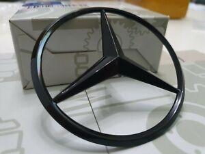 Mercedes GLE W166 Rear Boot Lid Badge Emblem Star - Gloss Black A1668170016