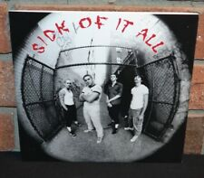 "SICK OF IT ALL - Self Titled, Limited 7"" BLUE VINYL EP + Insert NEW!"
