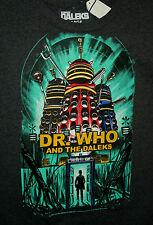 BBC Britsh TV Show Dr Who & The Daleks T-Shirt New Sz XL 2014 Tardis