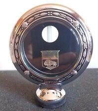 "Kaiser Boyce Senior Motometer Chrome With Wreath Rim 3-3/8"" Diameter"