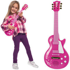Simba My Music World Rockgitarre Girl (Pink) Gitarre Kindergitarre Mädchen NEU