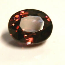 Natural earth-mined red zircon gemstone...3 carat