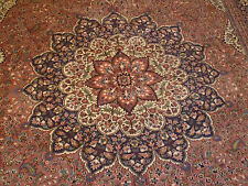 """Hand Made Fine Turkish Wool Rug, 8'7"""" x 11'10"""" ROSE COLOR"""