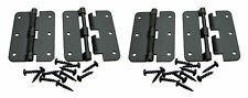 4 Pack Penn Elcom P0626K Black - Large Take Apart Hinge With Screws
