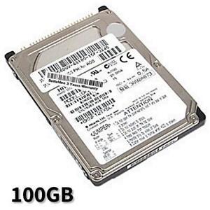 100GB Hard Drive Dell Latitude D410 D500 D500D505 D505 D510 D600 D610 D800 D810