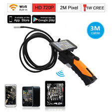 Wifi Endoscope Inspection Snake Camera 8.5mm Borescope f IOS iPhone Android