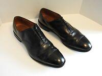 Allen Edmonds Park Avenue Men's Black Leather Cap Toe Oxfords - Size 14 E 5615