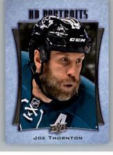 Carte collezionabili hockey su ghiaccio Joe Thornton