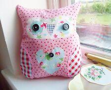 Owl Cushion Kit Cath Kidston Patchwork Sewing Craft Kit Complete Cushion Fun!!