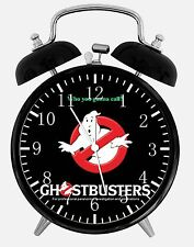 """Ghostbusters Alarm Desk Clock 3.75"""" Home or Office Decor X47 Nice For Gift"""
