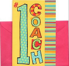 Best Female Coach #1 For Her Patient Fair Fun Thank You Card American Greetings