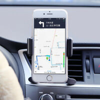 1x 360°Car Air Vent Mount Cradle Holder Navigation Stand For Cell Phone GPS YU