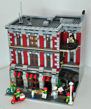 Modular Pizza Parlor recipe per LEGO (si adatta a 10197 10211 10224 10218)