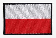Patch écusson patche embleme badge drapeau POLOGNE 70 x 45 mm