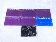 7-U.S. Mint Proof Sets 1972 1980 1986 1987 1990 1992 1993 Proof sets  COA NEW