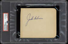 Jackie Robinson Album Page Signed Auto Brooklyn Dodgers PSA/DNA BOLD