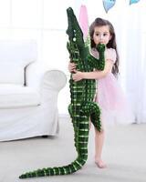 "79"" Giant Huge Large Big Crocodile Plush Soft Toys Doll Stuffed Animals Pillow"