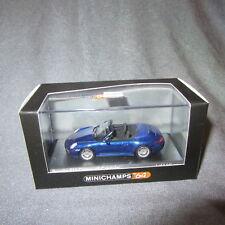 Minichamps Porsche 911 Carrera 4S Cabrio Blu 1/64