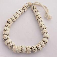 "Naga Sacred Coch Shell Necklace 20"" Tibetan Nepalese Handicraft Tibet Nepal"