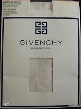 Vintage GIVENCHY Tights BODY GLEAMERS Sandel Toe BLUSH Size B Medium Unworn