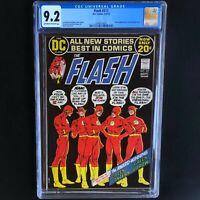 FLASH #217 (DC 1972) 💥 CGC 9.2 💥 G Lantern / G Arrow Backup! NICK CARDY Cover