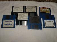 Lot of 7 3.5 floppy disks (PC)