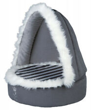 My Prince Cuddly Cave Dog, Puppy Bed, removable roof with zips non-slip Padded