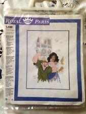 Abécédaire neuf Disney Esméralda et Quasimodo KIT POINT DE CROIX  ROYAL PARIS