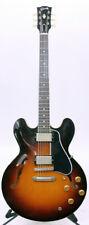 Gibson 1958 ES-335 VOS Semi-Hollow Guitar Historic Burst CASE & STRAP 2016