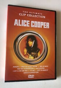 DVD ALICE COOPER THE ULTIMATE CLIP COLLECTION 2003 SIGILLATO SEALED POISON