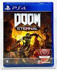 DOOM Eternal - PS4 - Brand New   REGION FREE   Portuguese Cover