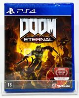 DOOM Eternal - PS4 - Brand New | REGION FREE | Portuguese Cover