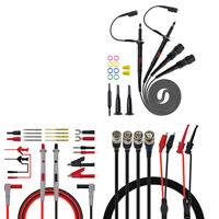 P1260D Multimeter Oscilloscope Banana Plug BNC Test Lead Probe Grabber 50Ω