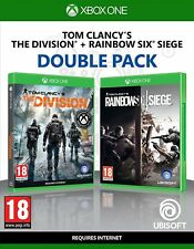 Tom Clancy's The Division + Rainbow Six Siege Double Pack (Xbox One)  NEW SEALED