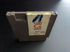 Low G Man The Low Gravity Man Authentic Nintendo NES EX condition game cart