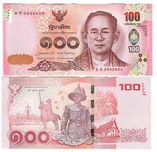 THAILAND 100 BAHT 2015 UNC P 127